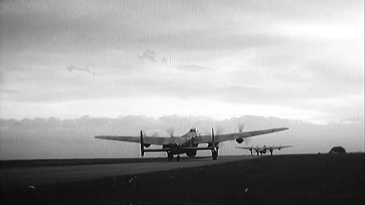 The Dam Busters - Richard Todd, Michael Redgrave, Ursula Jeans 1955