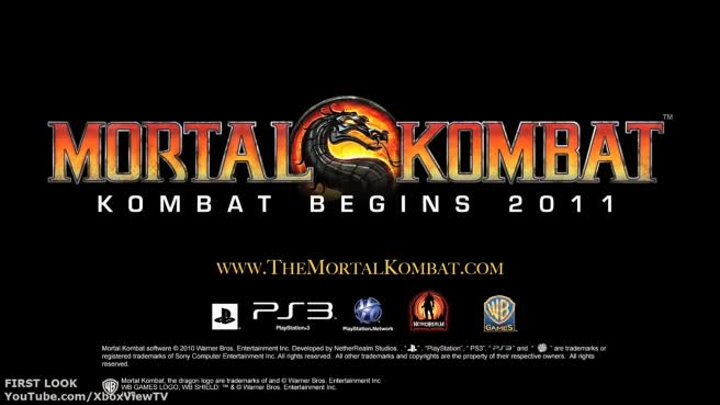 Mortal Kombat 9 - VGA 10: First Look Kratos Reveal Trailer (2011) MK9 | HD