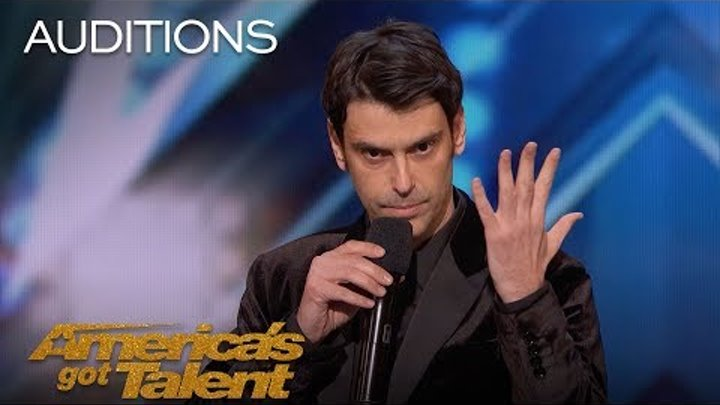 Lioz Shem Tov: Mentalist Showcases His Telekinesis To America - America's Got Talent 2018