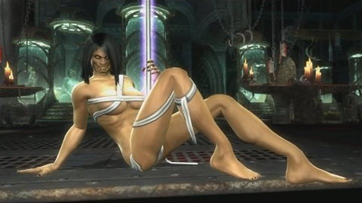 "Mortal Kombat 9 Komplete Edition - Jade ""Stripper Pole"" Victory Pose *All Females/Costumes* MOD (HD)"