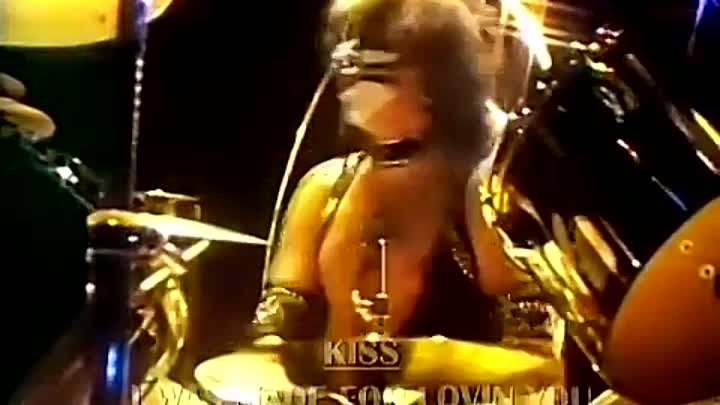 1312) KISS - I Was Made For Lovin' You 1979