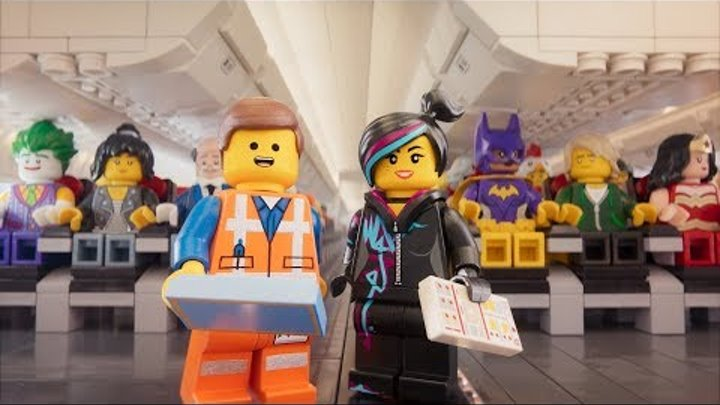 Turkish Airlines: Safety Video with The LEGO Movie Characters