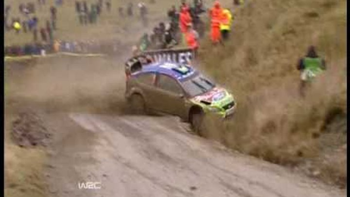 WRC Crashes & Highlights 2008
