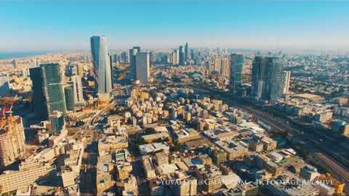 A Day in Tel Aviv - Aerial Perspective תל אביב