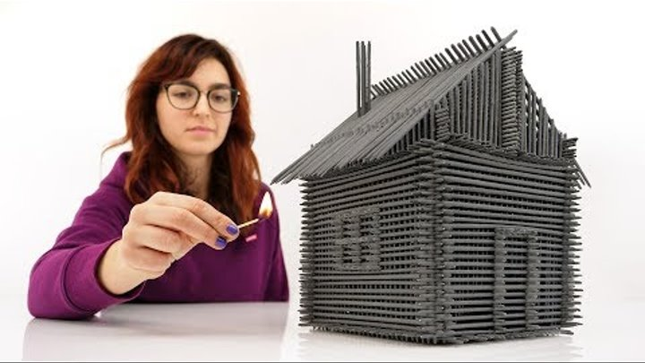 How to Build House From Sparklers Without Glue