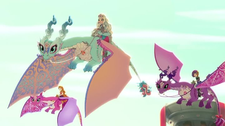 Ч6-Dragon Games-Powerful Princesses and their Dragons - Ever After High
