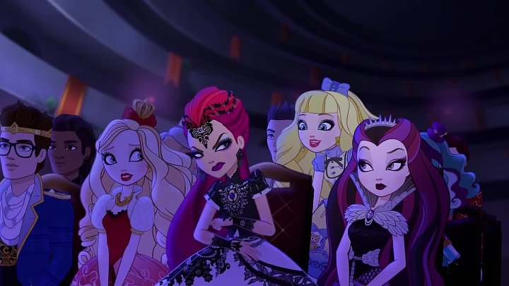ч4 - Dragon Games- Dragon Games Are Back! - Ever After High