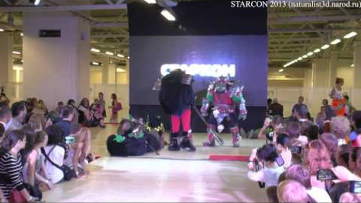 Starcon 2013 Cosplay (Orc on stage)
