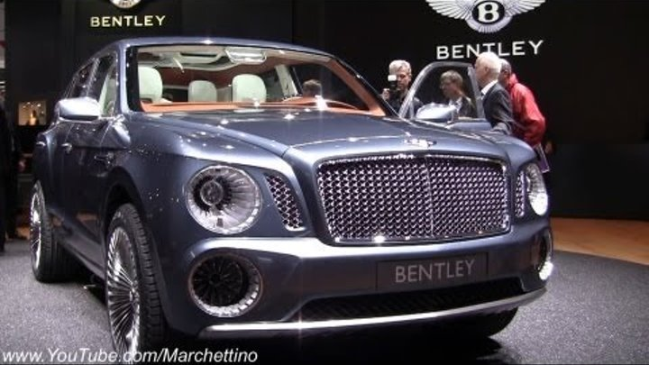 2013 Bentley EXP 9 F Concept SUV in Detail!