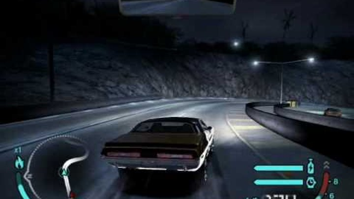 Need For Speed Carbon Free Roam Drifting With Rome`s Challenger