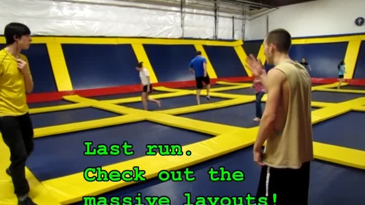 More Insane Trampoline Jumps and Tricks at Sky High Sports in Portland!
