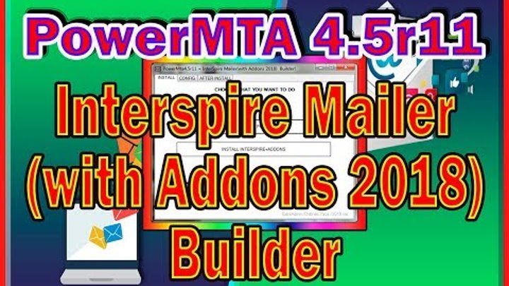 PIM Builder | Installer PowerMTA4.5r11 + Interspire Mailer (with Addons 2018)