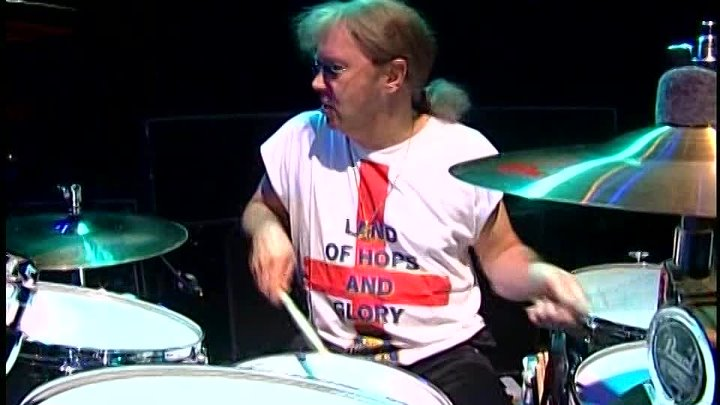Ian Paice & Chad Smith Live Performances at Ceremonial Opening London Drum Company 21.06.2004