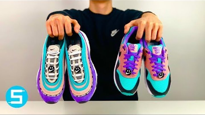 "AIR MAX 97 + AIR MAX 1 ""HAVE A NIKE DAY"" UNBOXING I DEUTSCH I #WIRPACKENAUS"