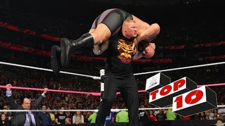 Top 10 Raw moments: WWE Top 10, Oct. 5, 2015
