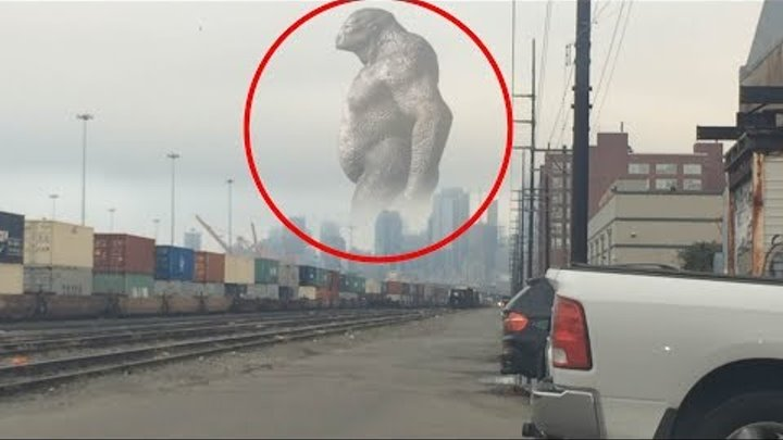 Real Giants Caught On Camera & Spotted In Real Life!