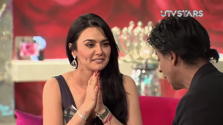 Shah Rukh Khan Preity Zinta dance - UTVSTARS HD