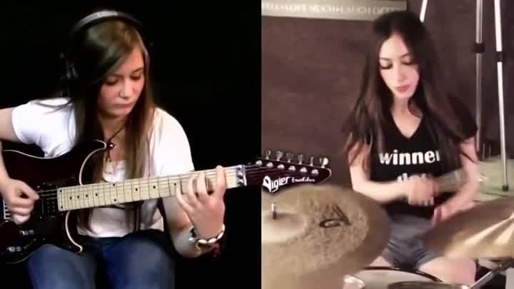 Tina. S. Meytal Cohen - Master Of Puppets. (Metallica cover). 480px