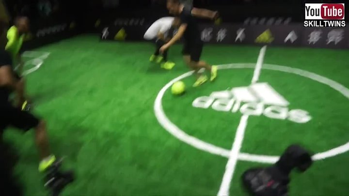 SkillTwins INSANE Football Match Skills _Goals_Dribblings