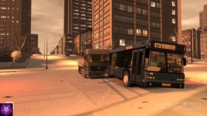Grand Theft Auto 4 (GTA IV / 4) - Crashes & Accidents 3.0 - The Winter Fun