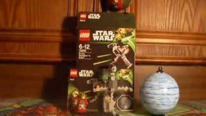 Lego Star Wars Series 4 B-Wing Starfighter And Endor Set 75010