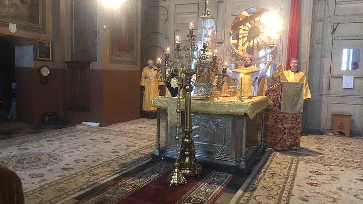 Божественная литургия. Прощённое воскресенье. #вороновохрам #священник_Георгий.Ермолин