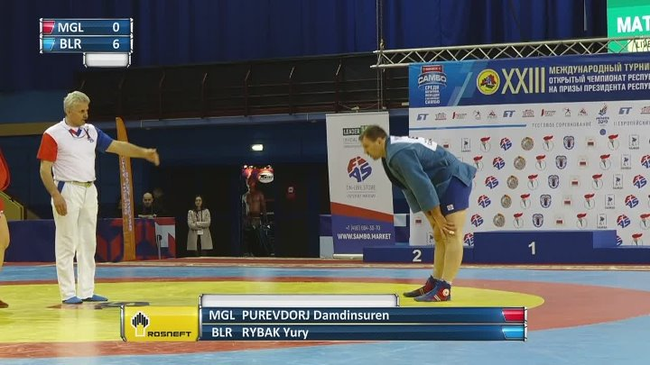 INTERNATIONAL SAMBO TOURNAMENT IN BELARUS. DAY 1