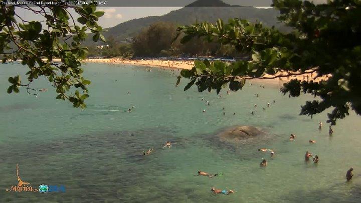 Прямая трансляция из отеля Marina Phuket Resort