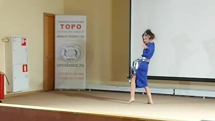 Восточные арабские танцы живота. Соревнования в Ростове-на-Дону.