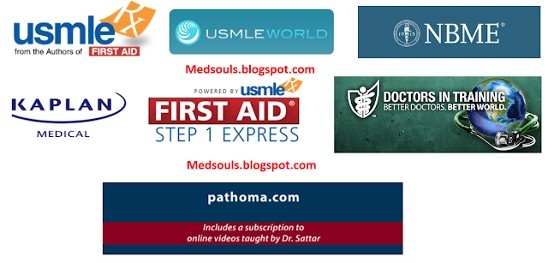 USMLE MATERIALS: UWORLD + KAPLAN + USMLERX + PATHOMA + DIT2015 +