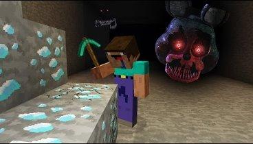 игры майнкрафт 5 ночей в шахте #6