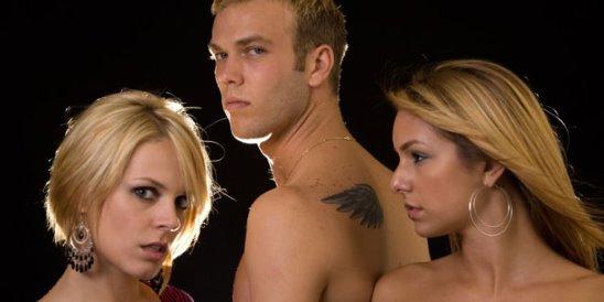 Dirty talk threesome ffm