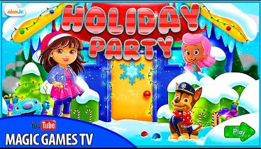 Paw Patrol - Paw Patrol Holiday Party Cartoon Movie Games